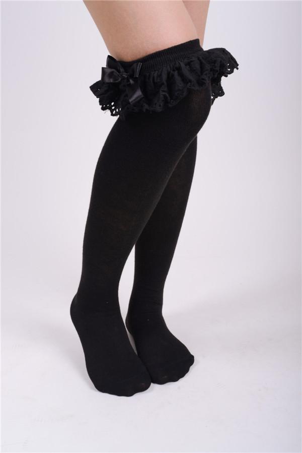chaussette lolita noir chez BLACK SUGAR