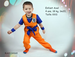 Emsemble cosplay Dragon Ball Z pour enfant chez BLACK SUGAR