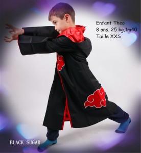 Cosplay enfant Naruton Itachi