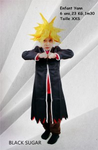 Cape bleach enfant cosplay